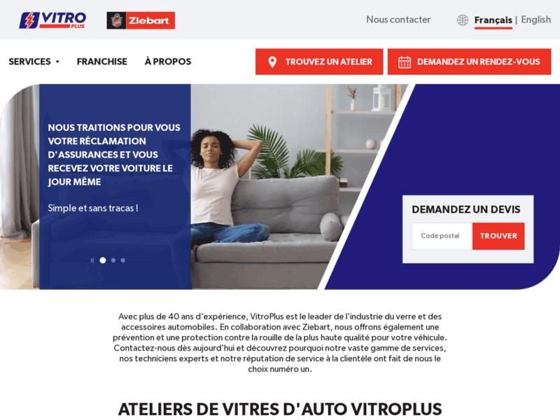 Vitroplus : Vitres, accessoires et protections auto