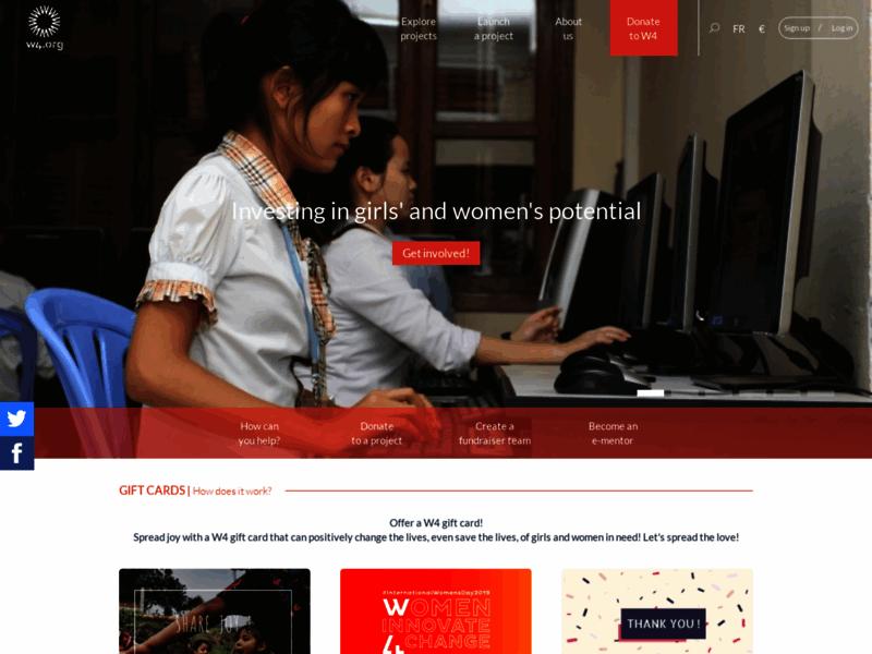 Promotion des femmes et des jeunes filles du monde entier | W4