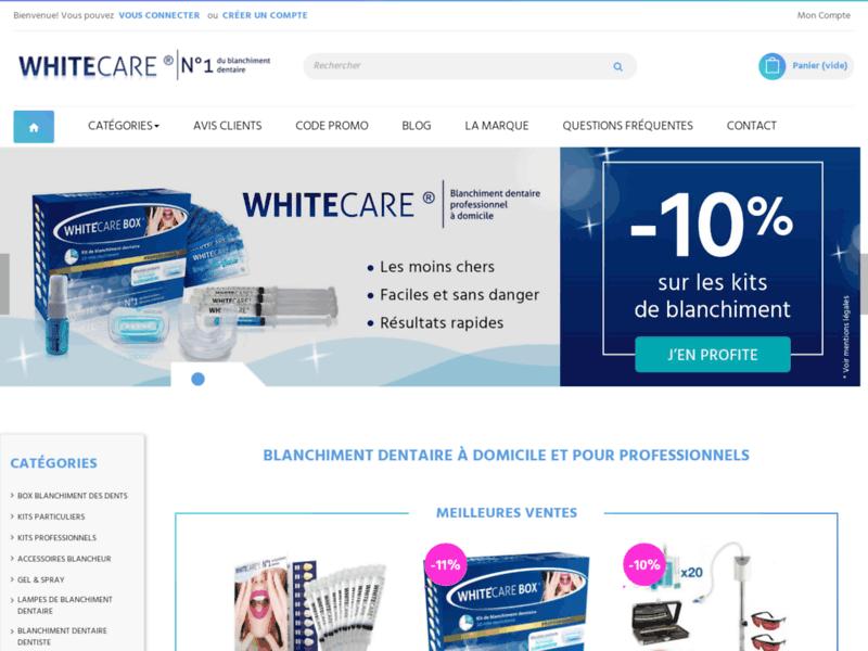 White Care,  produits de blanchiment dentaire
