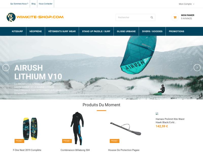 Achat en ligne d'accessoires kitesurf