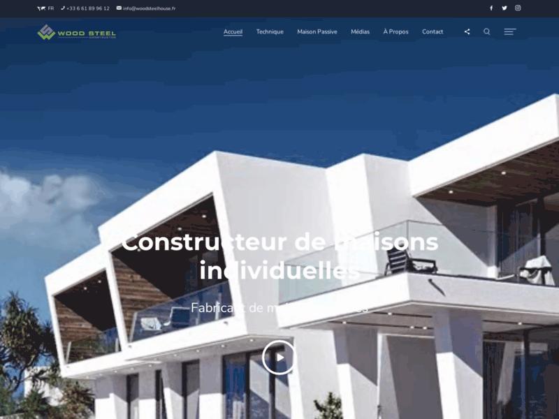 Wood Steel France, constructeur de maison passive Alpes-Maritimes
