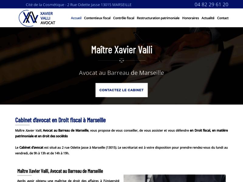 Me Xavier Valli, avocat en droit des sociétés à Marseille
