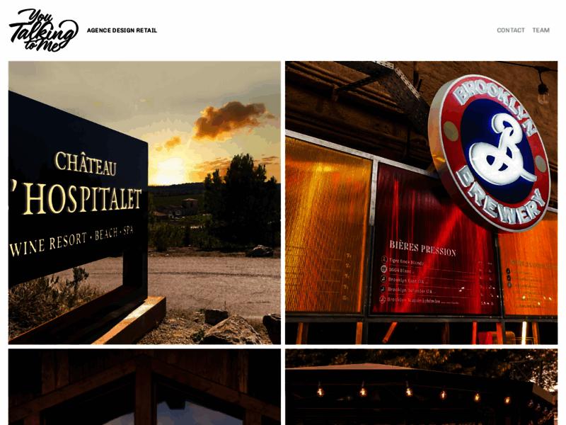 You Talking to Me - Art deco & Typographie