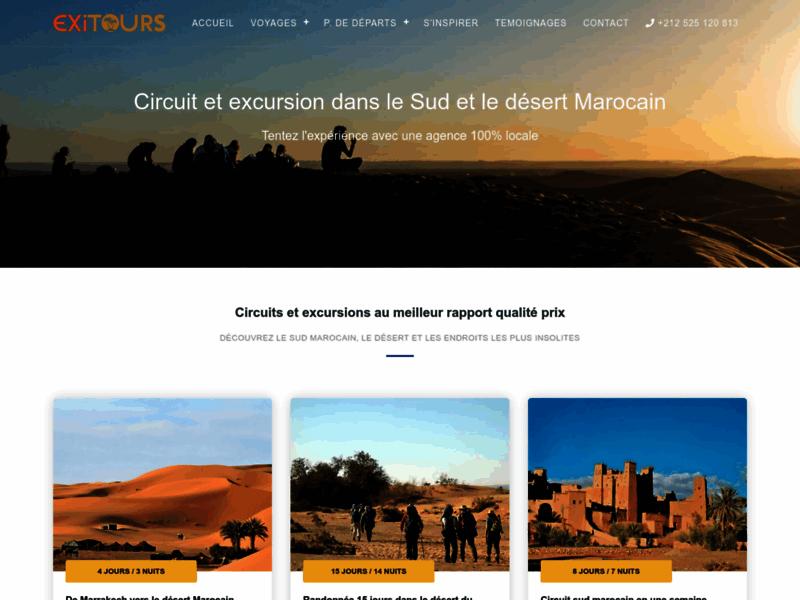 Découverte du sud marocain