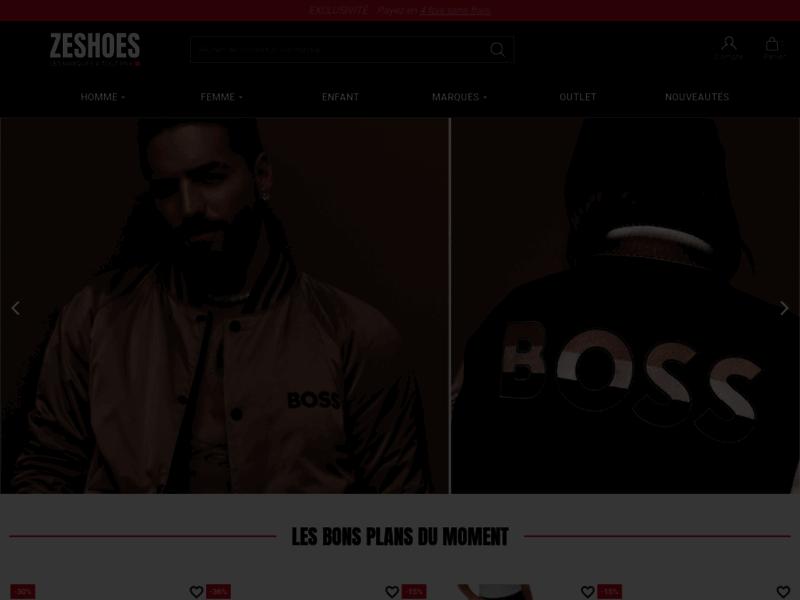 ZeShoes.com - Le leader de la basket de marque pas cher