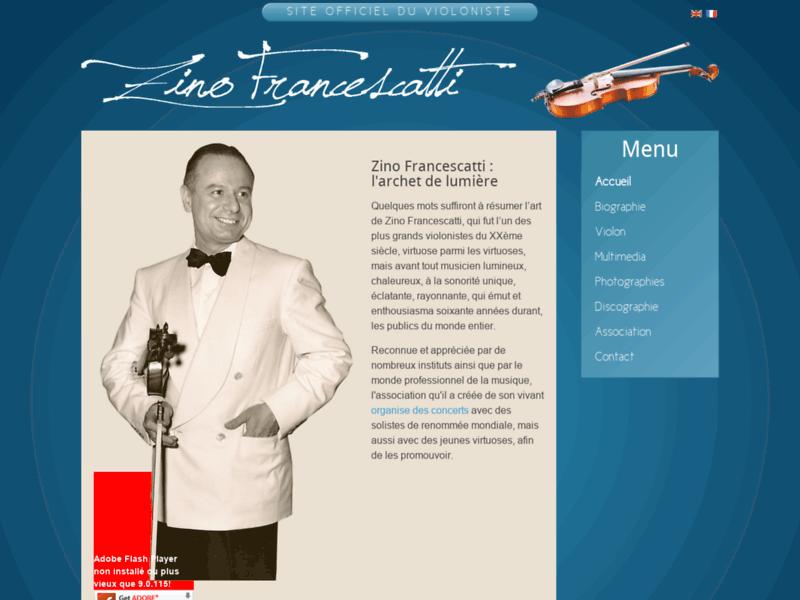 Organisation de concerts par l'association Zino Francescatti