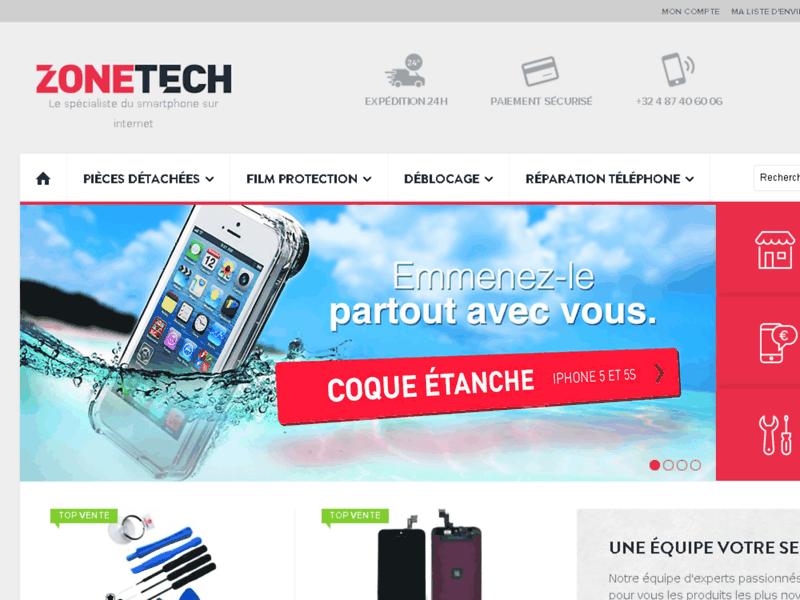 ZoneTech : Le spécialiste du smartphone sur internet