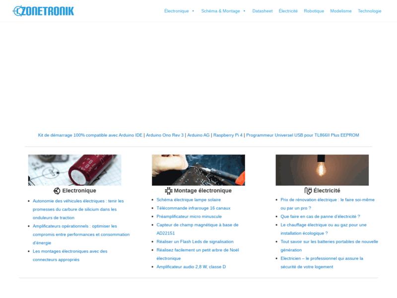 Composant électronique - www.zonetronik.com